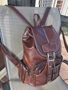 •••Leather Backpack••• Green Valley Liverpool Area Preview