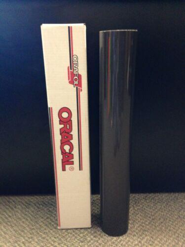 "Oracal 5500 Reflective Black Sign Vinyl 24""x10ft 7 year Reflective!!!!"