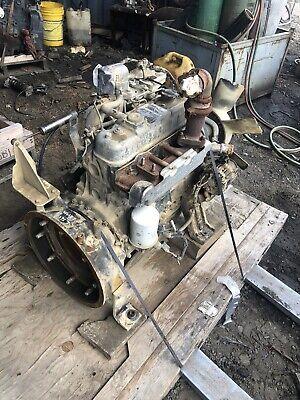 Isuzu 4jg1 Diesel Engine Runs Good