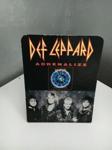 DEF LEPPARD  Adrenalize  rare promotional countertop standup
