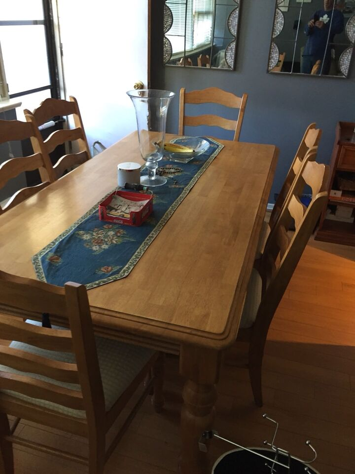 Dining room table solid wood great condition | Dining Tables ...