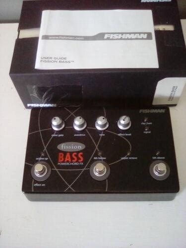 Fishman Fission bass power chord FX Pedal