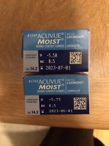 1 Day Acuvue Moist Brand contact lenses
