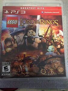 Lego the lord of the rings for ps3