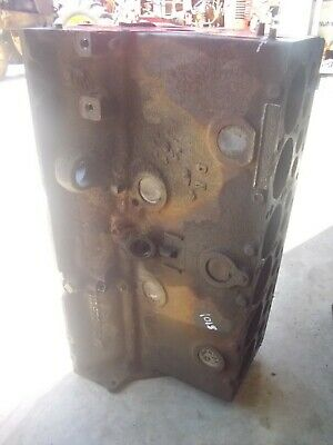 Massey Harris 101 Sr Tractor Good Orignal Mh 6 Cyclinder Gas Engine Motor Block