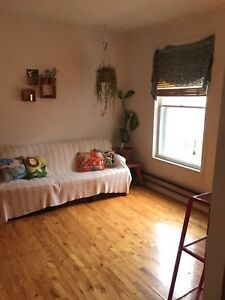 Spacious Ground Floor 4 1/2 Apartment Sublet  Hydro Included