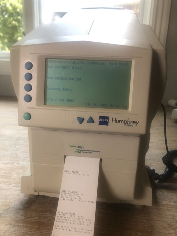 Zeiss Humphery FDT 710 Visual Field Analyzer Excellent Condition
