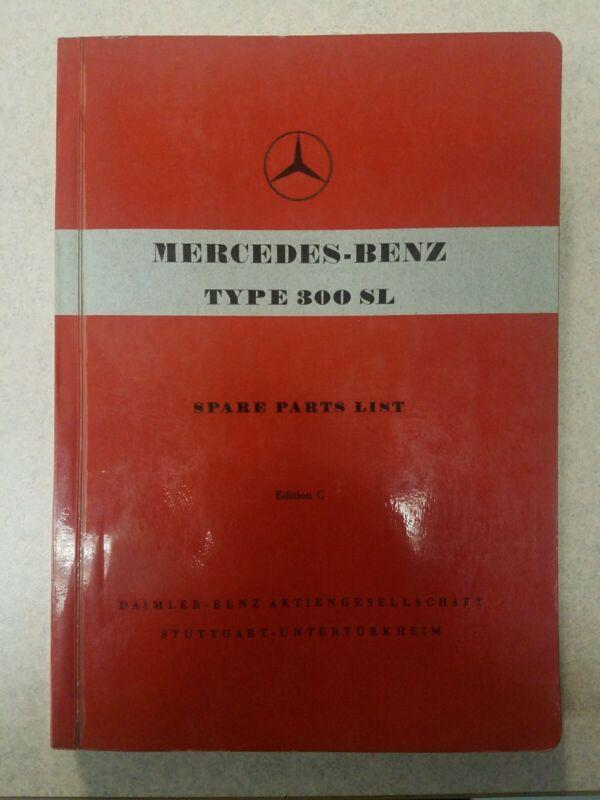 Mercedes Benz  Type 300 SL Parts Catalog
