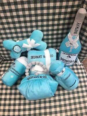 Sniffany Dog Toy Gift Set.  Great Parody Toys . 6 Toy Total