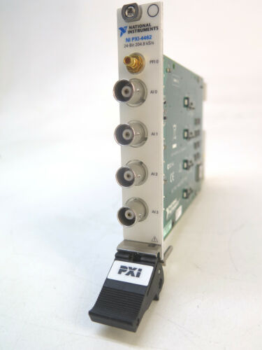 National Instruments NI PXI-4462 - 4 Input PXI Sound and Vibration Module