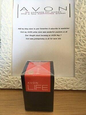 BNIB Sealed Men's Avon Life for Him By Kenzo EDT 75 ml RRP £24 FREE UK P&P
