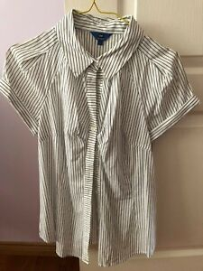 Cue striped shirt size 8, never worn Yowie Bay Sutherland Area Preview