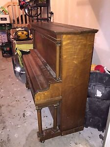 1912 Story & Clark Upright Grand Piano