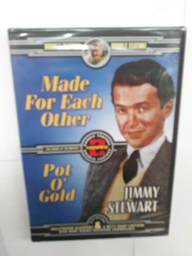 Made For Each Other / Pot O' Gold DVD  ~ *NEW*
