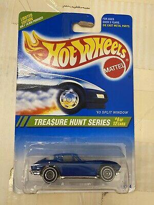 Hot Wheels 1995 Treasure Hunt '63 Split Window Corvette COLL #358