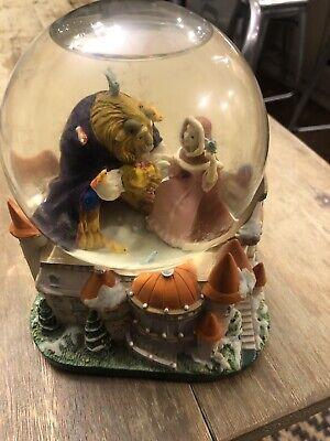 Disney Beauty & The Beast Christmas Snowglobe