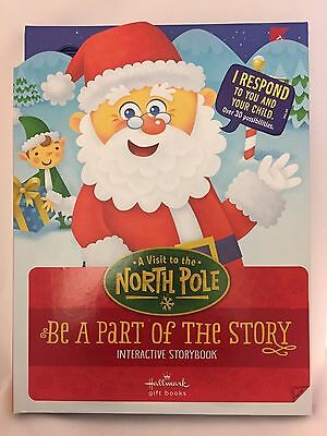 Hallmark Interactive Storybook A Visit to the North Pole gift book for - Storybook For Kids