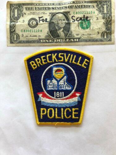 Brecksville Ohio Police Patch  un-sewn in mint shape