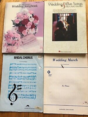 The Wedding Songs Big Book Sheet Music Piano Vocal Guitar SongBook NEW 000322086