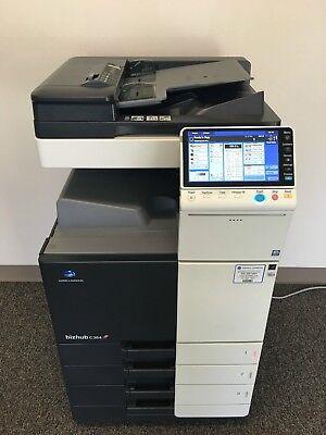 Konica Minolta Bizhub C364 Copier Printer Scanner Network Low 150k Total Pages