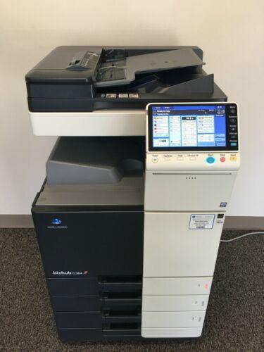 Konica Minolta Bizhub C364 Copier Printer Scanner Network Low 187k Total Pages