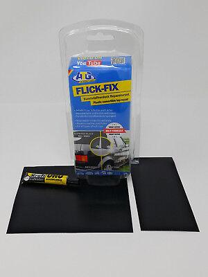 Black Convertible Top Repair Kit Convertible Top Repair Patch Black all brands