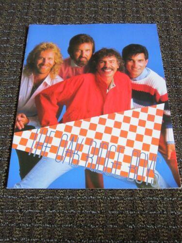 The Oak Ridge Boys Concert Program Booklet 1987 Collectible Vintage FREE SHIP