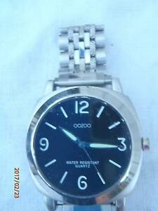 OOZOO Stainless Steel Water Resist Quartz + S/S band Mens Watch Terrigal Gosford Area Preview