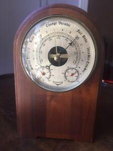 Vintage Barometer Barostar France