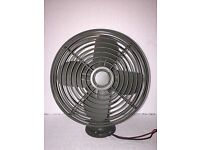 MILITARY TRUCK SURPLUS 24 VOLT UNIMOTOR 14 INCH PUSH OR PULL COOLING FAN 24V