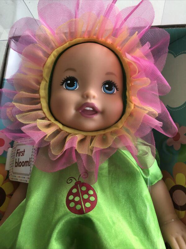 Little Mommy First Bloom Flower Dress Up Cuties Doll