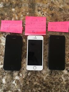 iPhones available