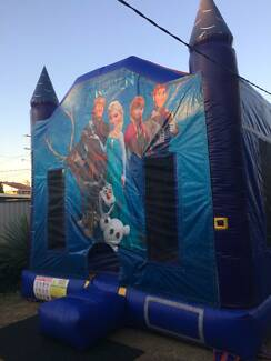 jumping castle hire FROZEN Mermaid Waters Gold Coast City Preview