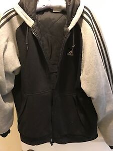 ADIDAS FULLY QUILTED LINED ZIP UP JACKET Doncaster Manningham Area Preview