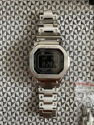 Rare Casio G-Shock *GMW-B5000D-1ER* Rare Negative Display -Mint