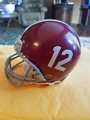 (ALABAMA CRIMSON TIDE RIDDELL Mini Helmet NCAA. SEC. NATIONAL CHAMPS )