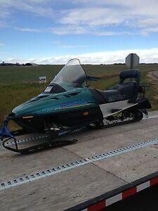 Parting out touring sled