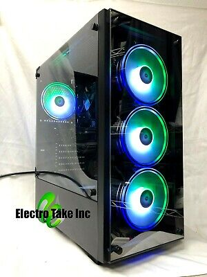 GAMING PC COMPUTER DESKTOP Intel CORE i7-3.40GHz ✓ 16 GB ram ✓ RX 570 ✓ 3 TB HDD