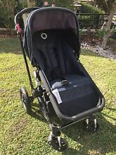 Bugaboo Cameleon with black frame and dark denim upholstery Breakfast Point Canada Bay Area Preview