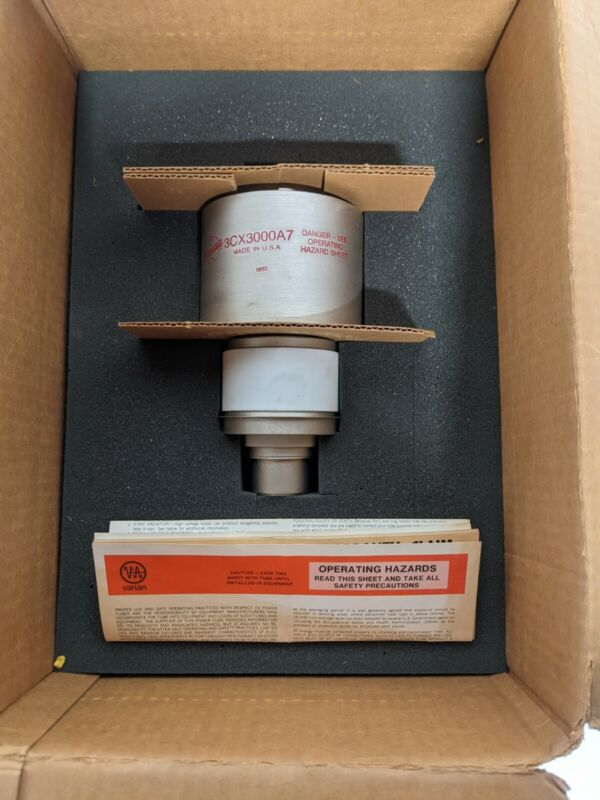 EIMAC 3CX3000A7 High Power Triode Electron Tube Free Shipping in United States