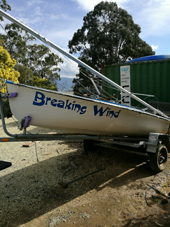Sailing dinghy Woodbridge Kingborough Area Preview