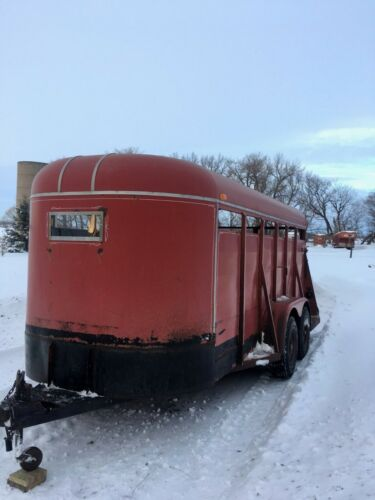 1978 Shelby 16 Foot Stock Trailer