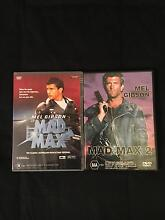 2x Mad Max DVD's Armadale Armadale Area Preview