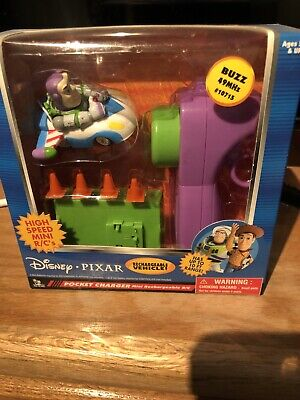 TOY STORY AND BEYOND! DISNEY POCKET CHARGER HIGH SPEED MINI RECHARGEABLE R/C