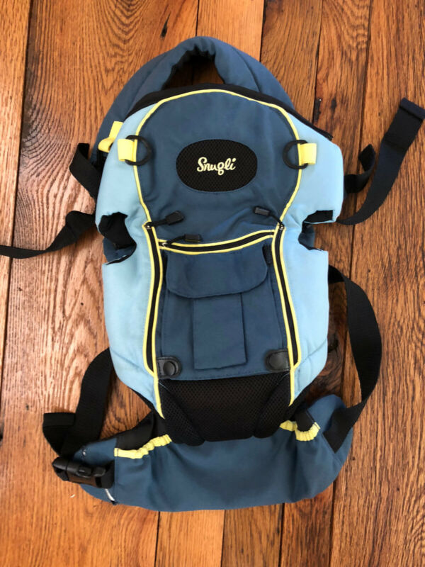 evenflo snugli baby backpack carrier