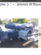 Camper trailer.  Never been off road . Only  been used 4 times. Butler Wanneroo Area Preview