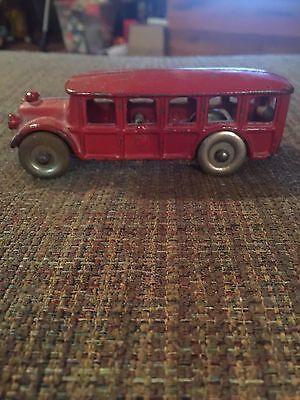 1920's Antique Cast Iron Toy Bus