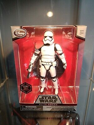 Star Wars Elite Series First Order Stormtrooper Die Cast Action Figure Disney