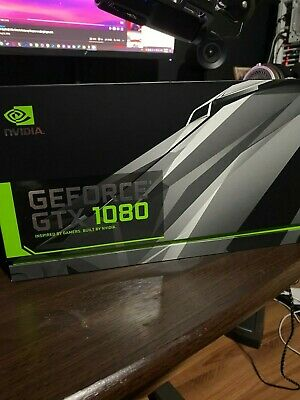 NVIDIA GeForce GTX 1080 Founders Edition Video Card