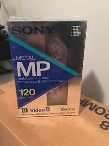 Sony video 8 cassettes